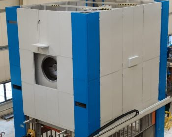 Soundproof cabin for 800 ton press