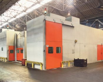Soundproofing for national press hot forging line