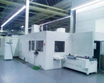 Soundproof enclosure for hot forging machine