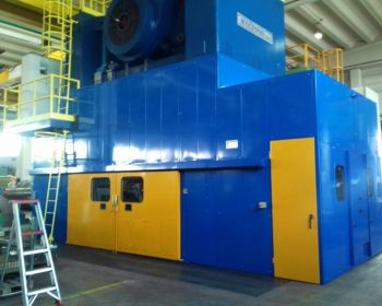 Part Soundproof of mecfond 400 tn press